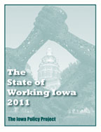 State of Working Iowa 2011 cover