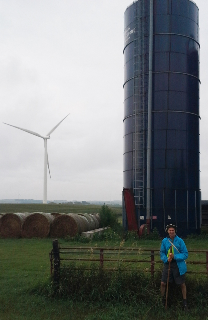 photo of Ed Fallon, turbine